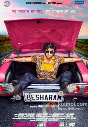 Ranbir Kapoor's 'Besharam' Movie First Look