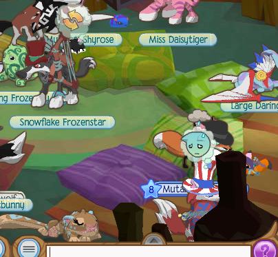 The Animal Jam Rainbow: Table Pillows