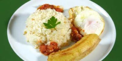 Recetas de cocina arroz a la cubana