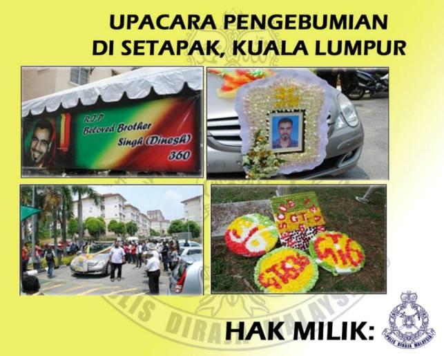 Gambar) Logo, Lambang & Aktiviti Kumpulan Kongsi Gelap Malaysia
