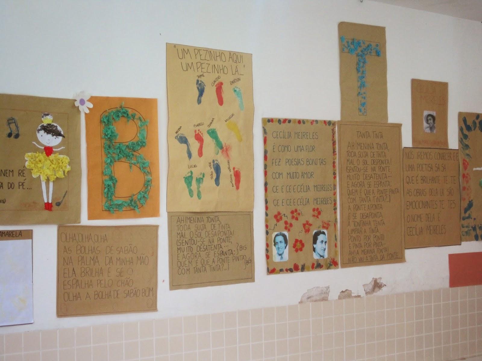 EDUCAÇÃO INTEGRAL: Projeto Poesia- Cecília Meireles