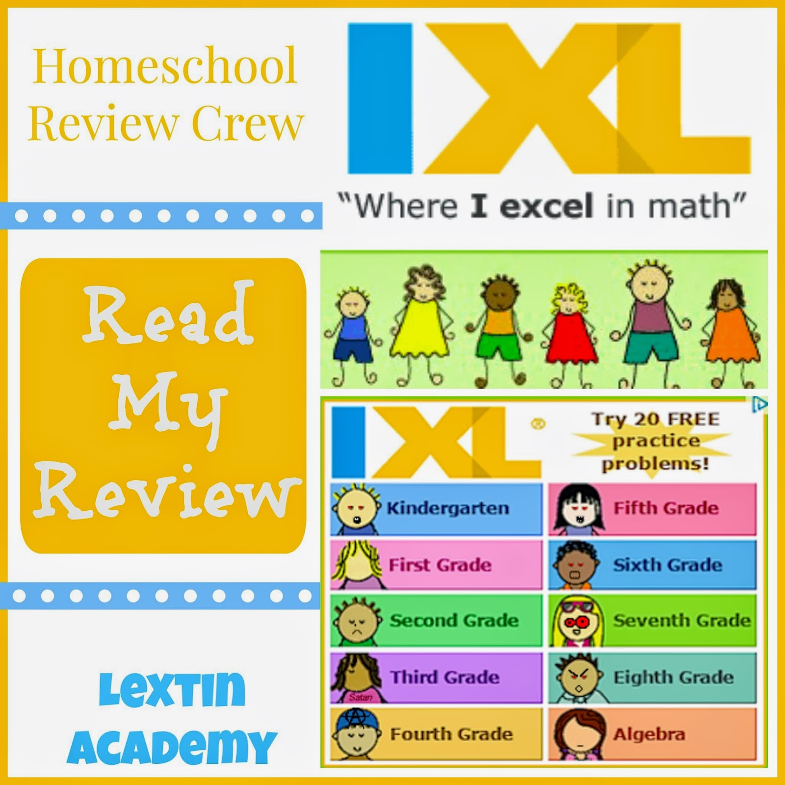 Review Crew} IXL Math and Language Arts - Lextin Eclectic