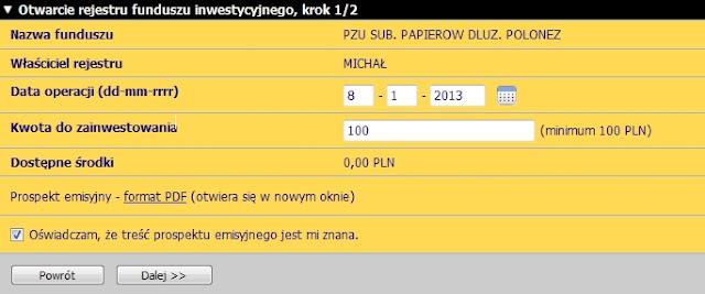 fundusz inwestycyjny PZU Polonez mBank