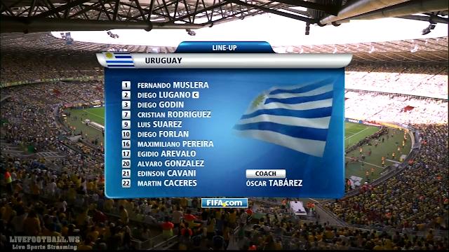 Copa Confederaciones - Brasil vs Uruguay