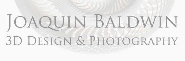 Joaquin Baldwin 3D Design & Photography