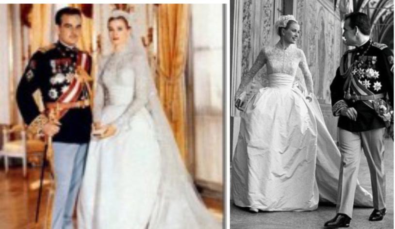 El vestido de novia de grace kelly