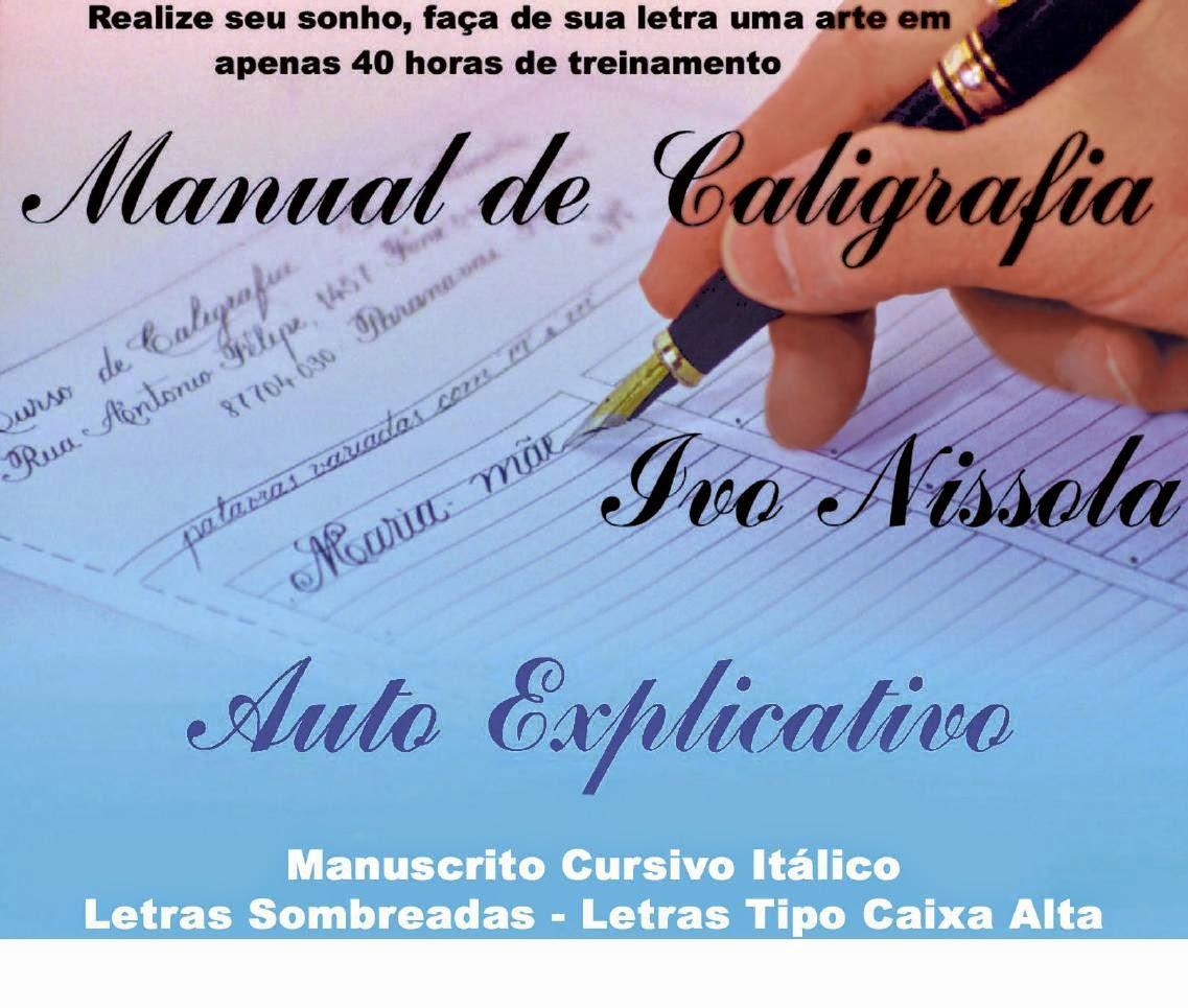 Manual de Caligrafía con  Pluma Estilográfica