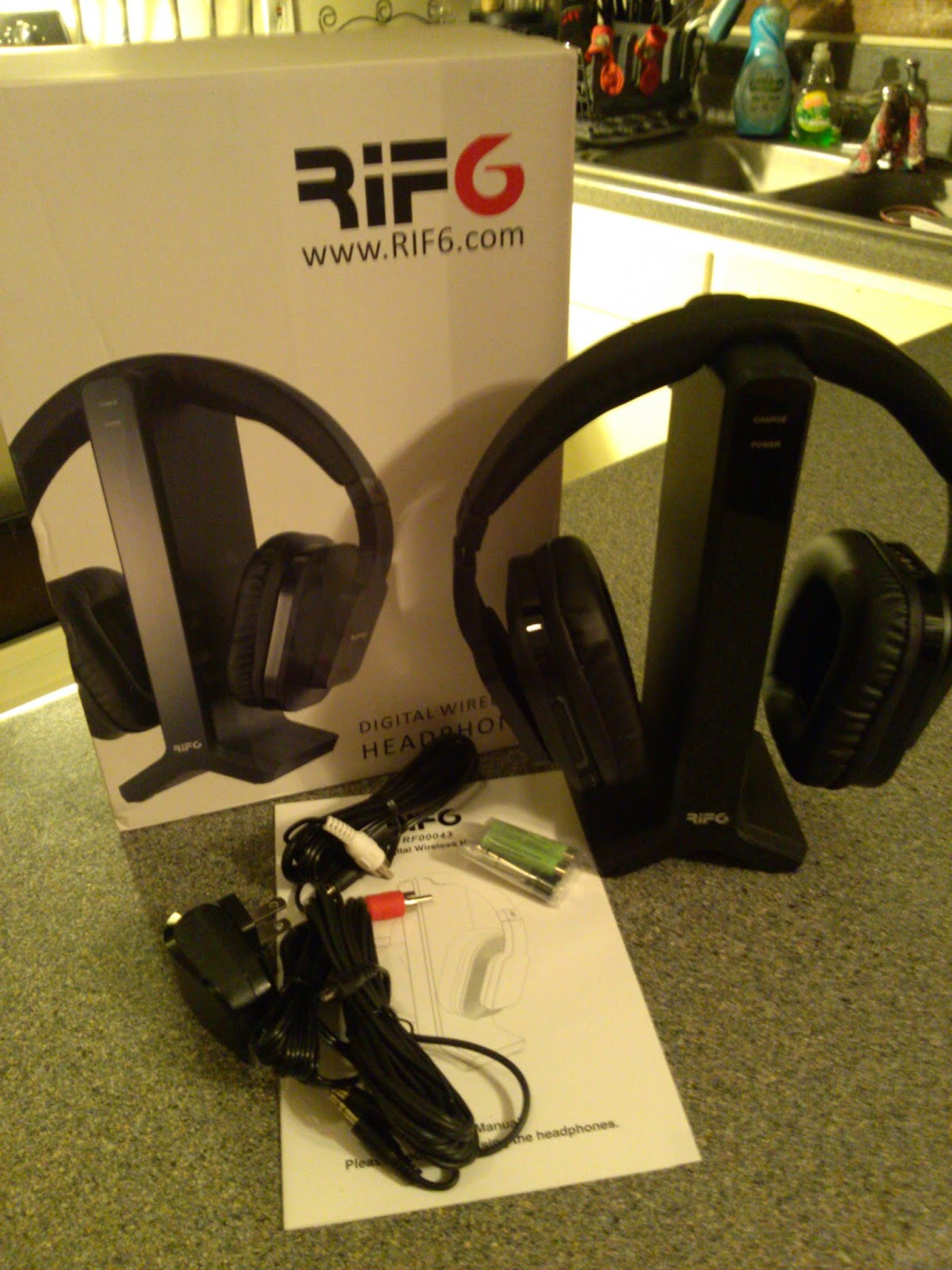 2.4GHz Digital Wireless Headphones Review