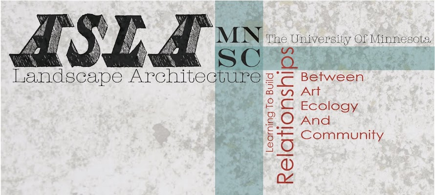 Landscape Architecture at the University of Minnesota