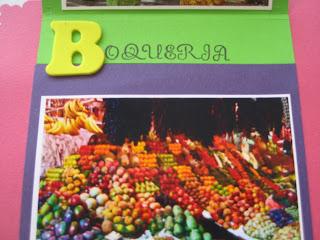 Scrapbook Mini álbum Barcelona