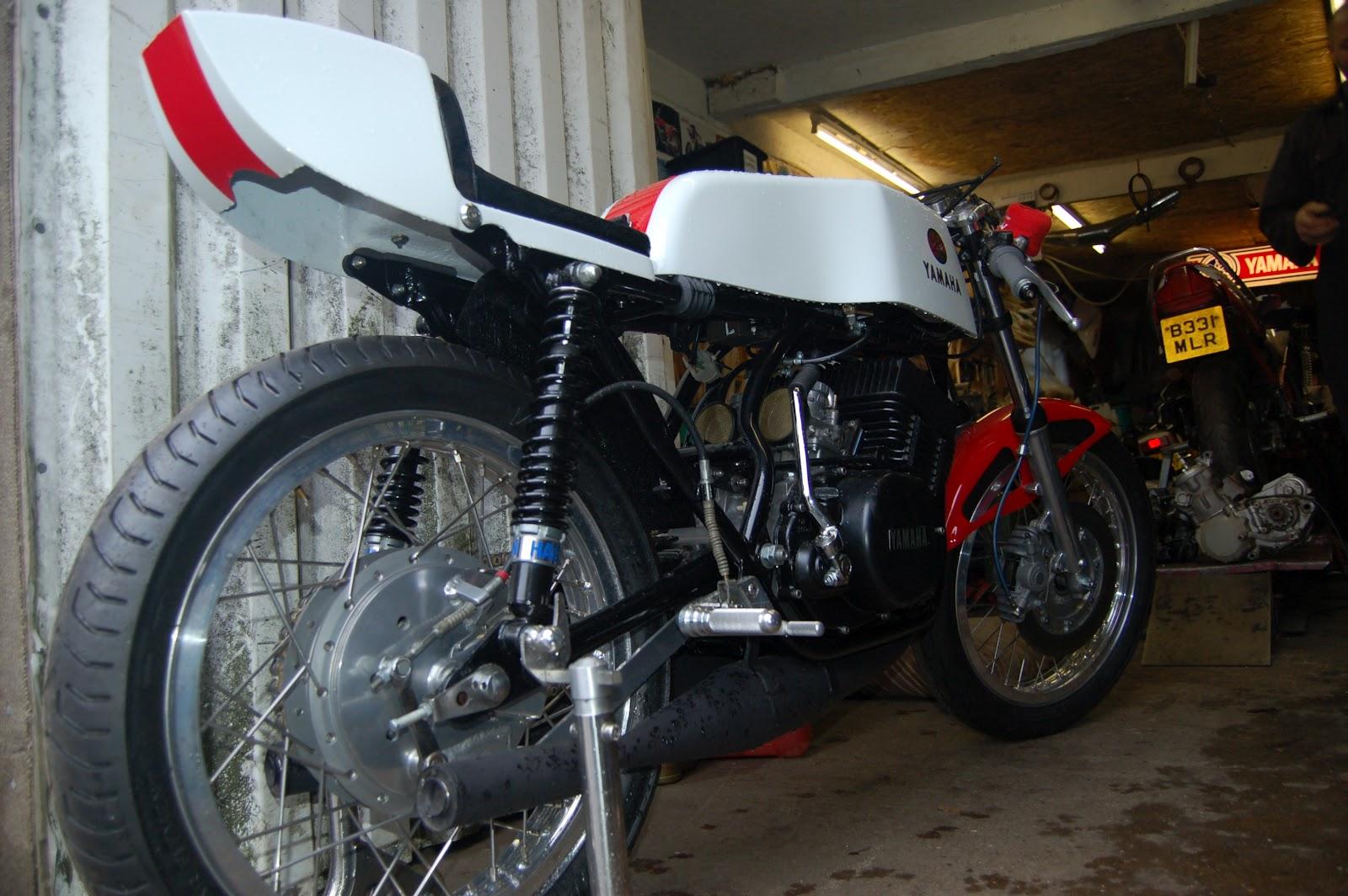 European motorcycle diaries spirit of the seventies yamaha rd400tz350 hybrid falaconquin
