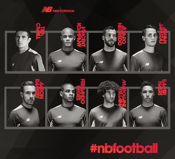 NB Football jugadores de fútbol New Balance
