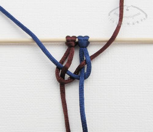 Makrama węzeł figowy 5