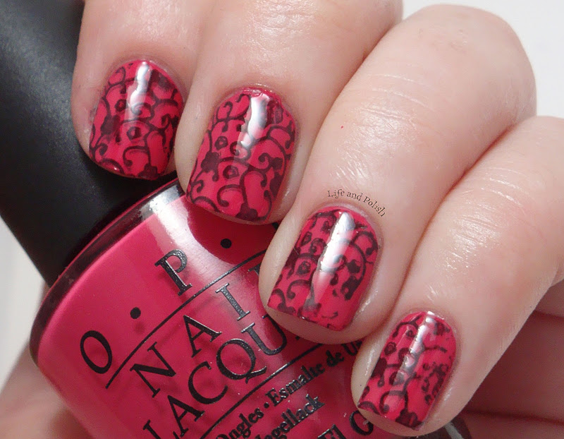 Life and Polish  Pink Wallpaper