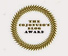 The cojonudo´s blog award