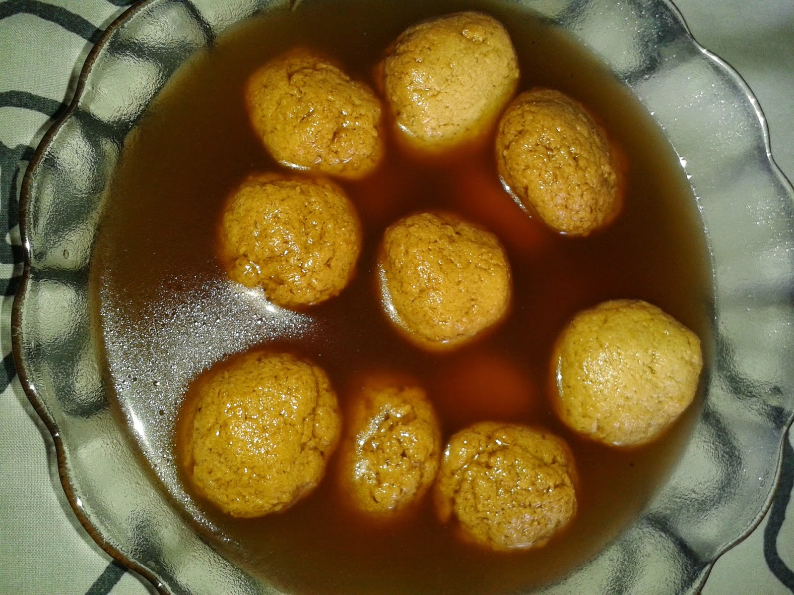 After Some Time We Open The Cooker LidThe Rasgulla Should Be Floating On Syrup And Its Size Double Add Cardamom Powder Serve Chil