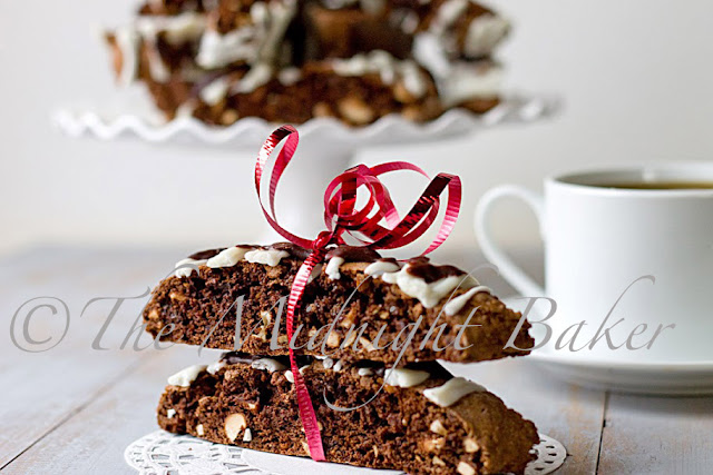 Chocloate Hazelnut Biscotti