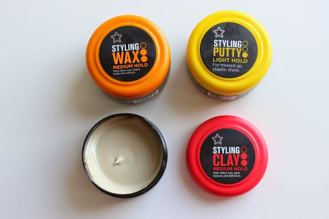 Superdrug Men's Hair Styling Products