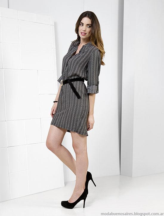 NMD otoño invierno 2015 vestidos cortos moda 2015.