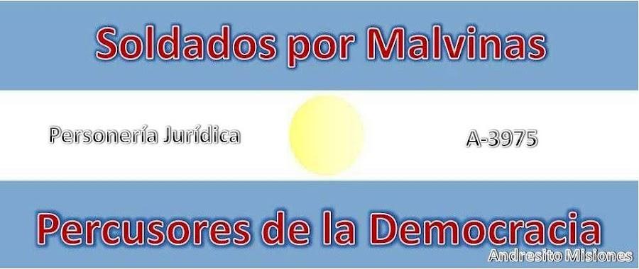 Soldados por Malvinas, Andresito, Misiones, Cataratas del iguazú