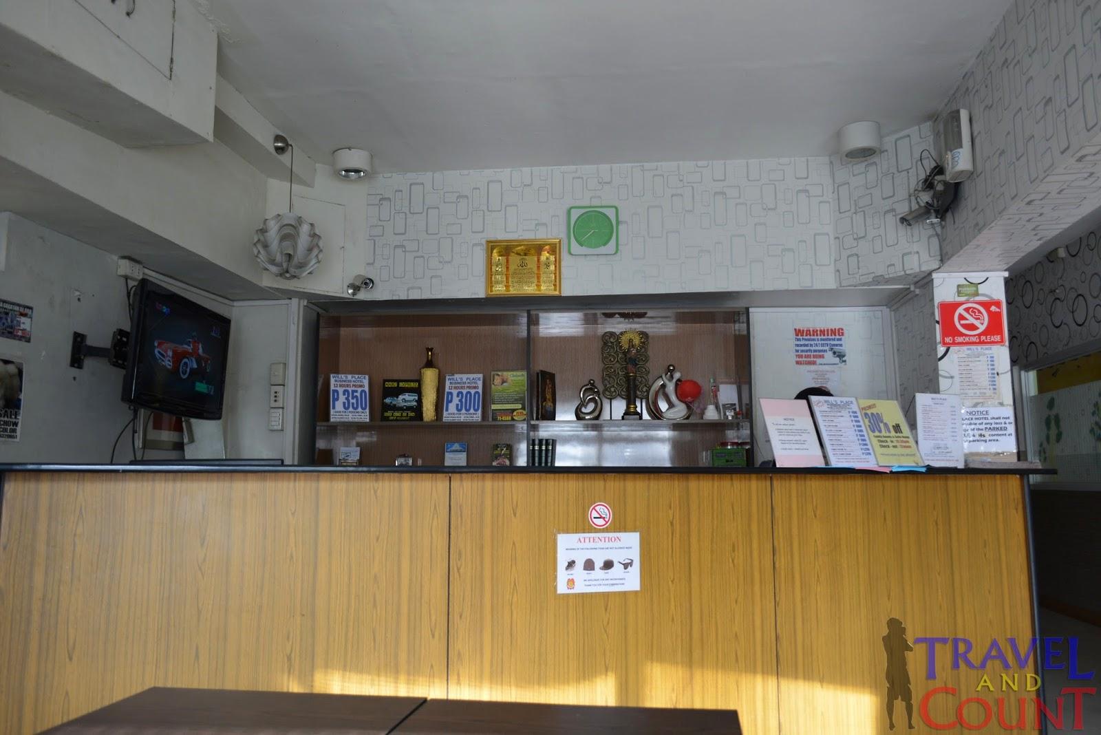 Will's Place CDO Reception Area