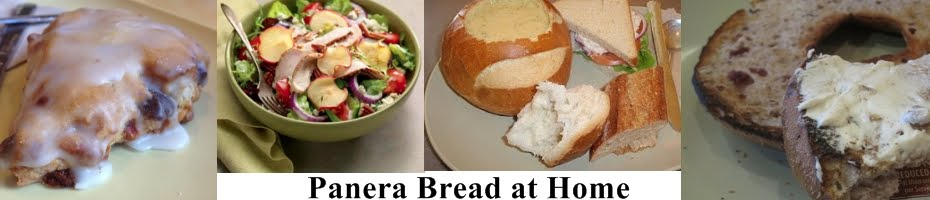 Panera Bread Restaurant Copycat Recipes