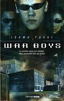"""Portada del libro """"War Boys"""""""