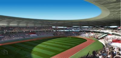 3D Tampak Dalam Stadion BMW Jakarta