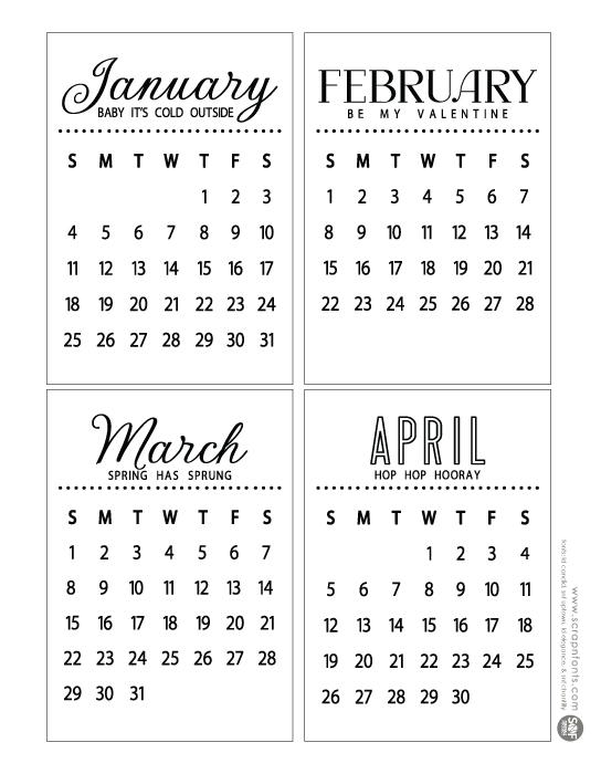 2015 Small Calendar | New Calendar Template Site