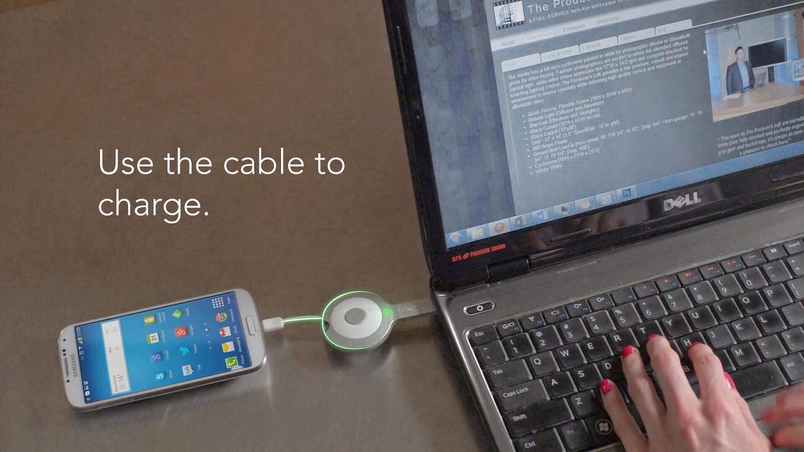 Connection charge et mémoire flash