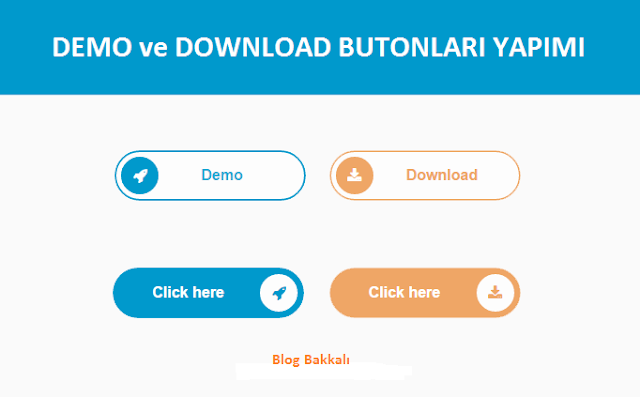 Slayt Demo ve Download Butonlari Yapimi