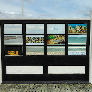 Art on The Pier exhibition, Worthing 2015