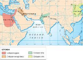 AQUÍ ESTÁ MESOPOTAMIA Y EGIPTO
