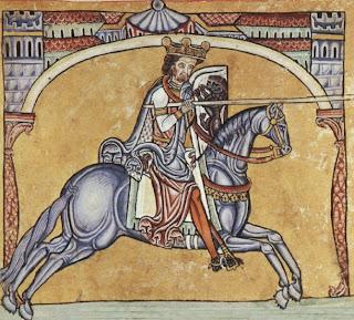 El rey Alfonso IX de León
