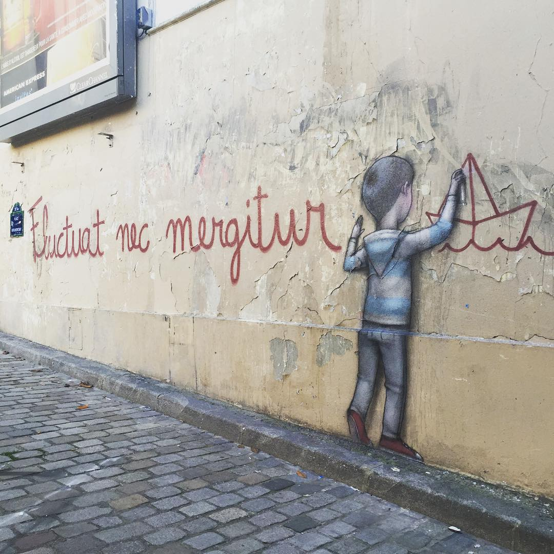 Seth Paints A Simple Yet Powerful Piece On The Streets Of Paris