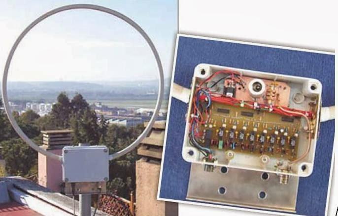 Schemi Elettrici Per Radioamatori : Air radiorama antenna attiva per onde lunghe vlf khz a