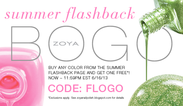 ZOYA Nail Polish Sale