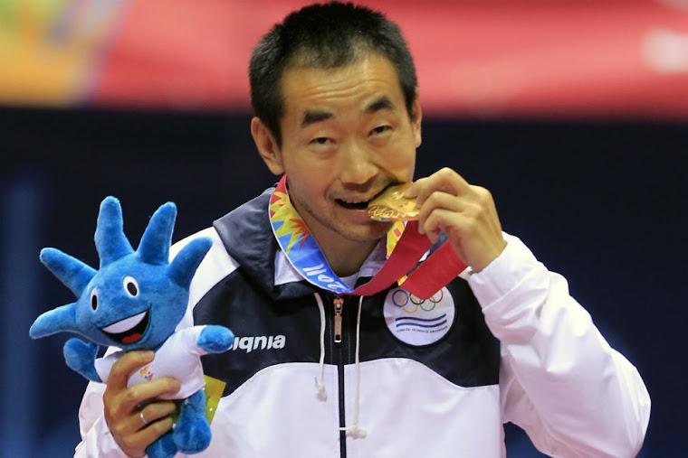 Medalla de Oro Liu Song Argentina Tenis de Mesa en Guadalajara