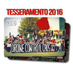 Tesseramento 2016 Forza Nuova