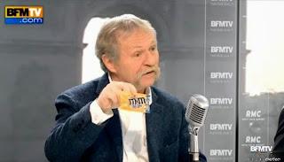 José Bové a appelé à boycotter les M&M's sur le plateau de BFMTV