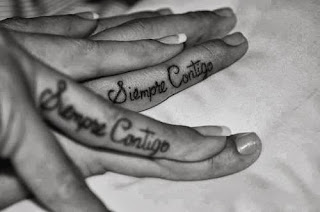 tatuaje de pareja siempre contigo
