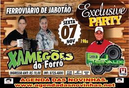 FERROVIÁRIO DE JABOATÃO  - XAMEGÕES DO FORRÓ.