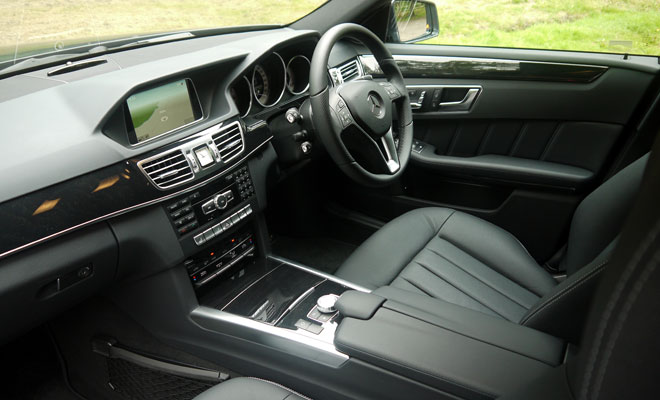 Mercedes-Benz E300 Hybrid interior
