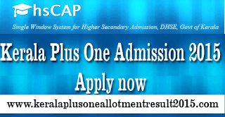 Kerala plus one admission, how to apply +1 course kerala, plus one ekajalam admission 2015, single window plus one admission 2015