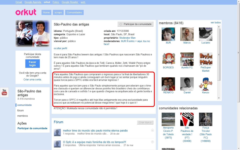 Como bloquear as fotos no orkut para ninguem ver