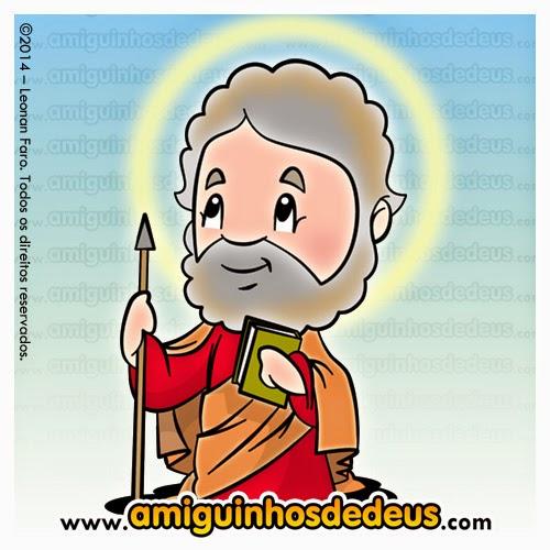 São Tomé apóstolo desenho