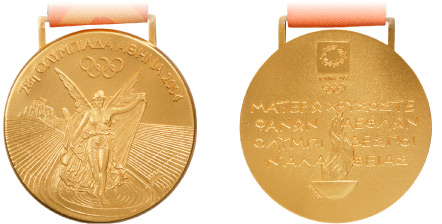Medal Design Olympic Athens 2004