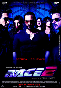 Download Race 2 2013 Watch Full Hindi Movie Online DVD SCR Rip