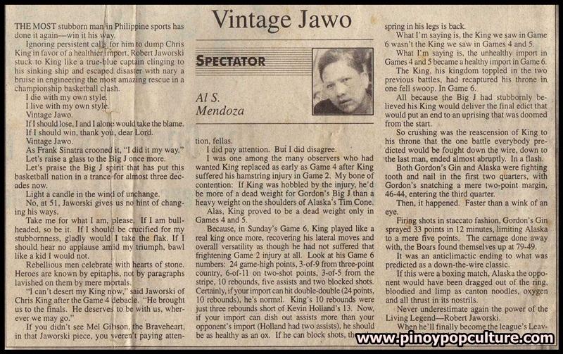 Robert Jaworski, Jaworski, Al Mendoza, Al S. Mendoza, Vintage Jawo, Jawo