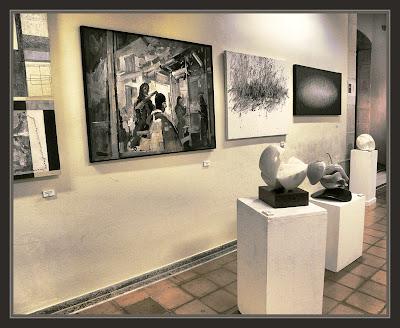 SITGES-ART-MODERN-PINTURA-CAU FERRAT-SANVISENS-BARBERIA-FOTOS-PINTOR-ERNEST DESCALS-